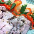 グッジョブ!マイマザーの塩麹で豚肉と大根のハーブソテー
