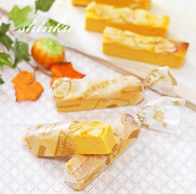 簡単*なめらかかぼちゃチーズケーキ【生クリーム不要】