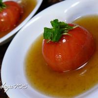 ☆もちっとクリーミー!トマトの詰め物蒸し~さびない美人に!~☆