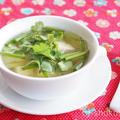 タイ風豆腐のすまし汁【中性脂肪を下げるレシピ】