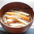【レシピ】きんぴらごぼうのお味噌汁