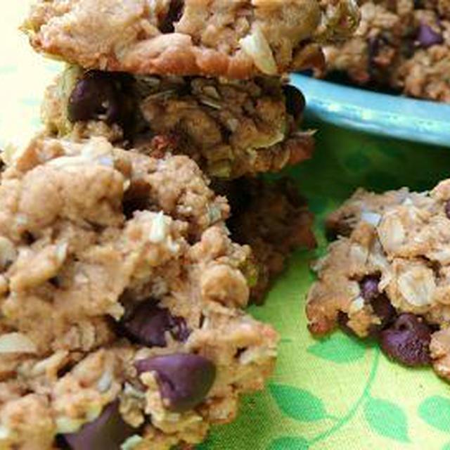 ピーナッツバター オートミール チョコチップクッキー Peanut Butter Oatmeal Chocolate Chip Cookies