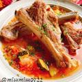 豚スペアリブの夏野菜煮込み【staub】(動画レシピ)/Stewed pork spareribs with vegetables.