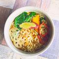 オータムマルちゃんラーメン  #豊菜JIKAN  #金魚の肴  #秋野菜 by 青山 金魚さん