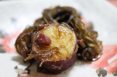 ★ 昆布甘金時の小豆炊き