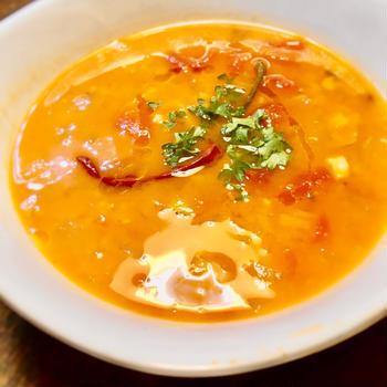 かんたんレシピ/クミン風味なレンズ豆のスープ