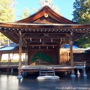 三太郎音頭の身曾岐神社でご朱印いただく