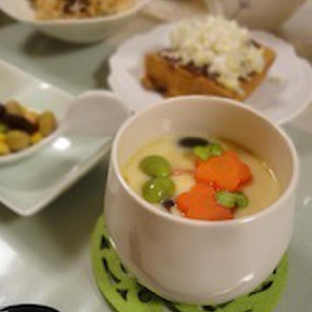 北海道の甘〜い茶碗蒸し♪