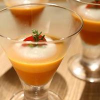 にんじんとトマトのヨーグルトスープ