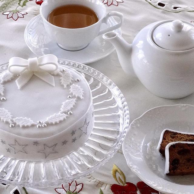 皆さんの英国伝統クリスマスケーキ