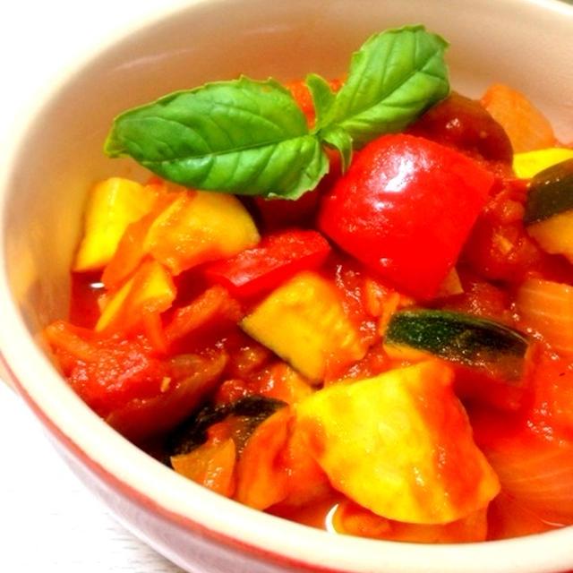 フランスの野菜煮込み*ラタトゥイユ