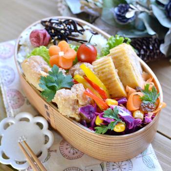 大豆ミートの唐揚げ弁当