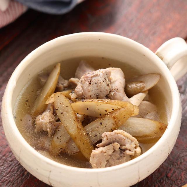 チキンごぼうのデトックススープ【#簡単 #時短 #節約 #スープの素不使用 #腸活 #デトックス #リセット #スープ】