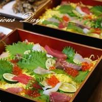 ちらし寿司にぴったりのクレームドペシェ