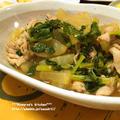 *【recipe】豚肉と大根のほっこり炒め煮*