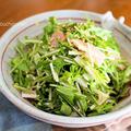 食べやすい!素材一品だけおかず*水菜のごま酢サラダ