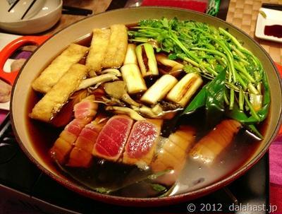 毎年恒例のねぎま鍋(葱鮪鍋) そして年越し蕎麦へ