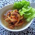 炒めキムチ玄米スープかけごはん(10min)
