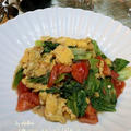 ◆福岡県産 リーフレタスとトマトと玉子のソテー ♪