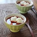オニオングラタン風トマトスープ