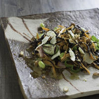 ひじきと根菜のサラダ