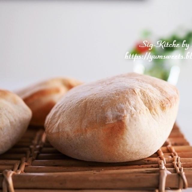 レシピ動画『ピタパンとピタサンドイッチ』