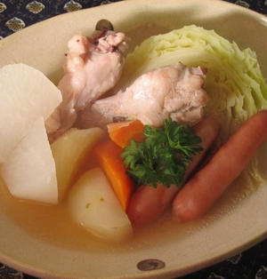 炊飯器で!生姜風味でぽかぽかポトフ