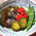 南蛮酢で『夏野菜の煮浸し』