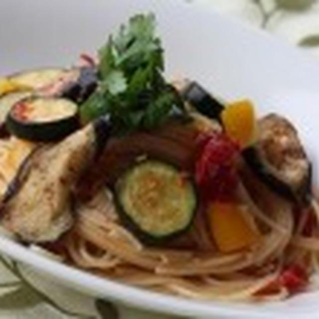今宵の肴 @ 干し夏野菜のパスタ