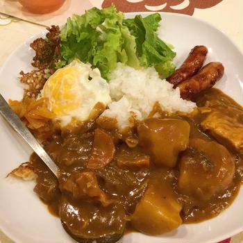 レンジで簡単!鶏ムネ肉カレー