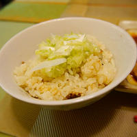秋刀魚炊き込みご飯