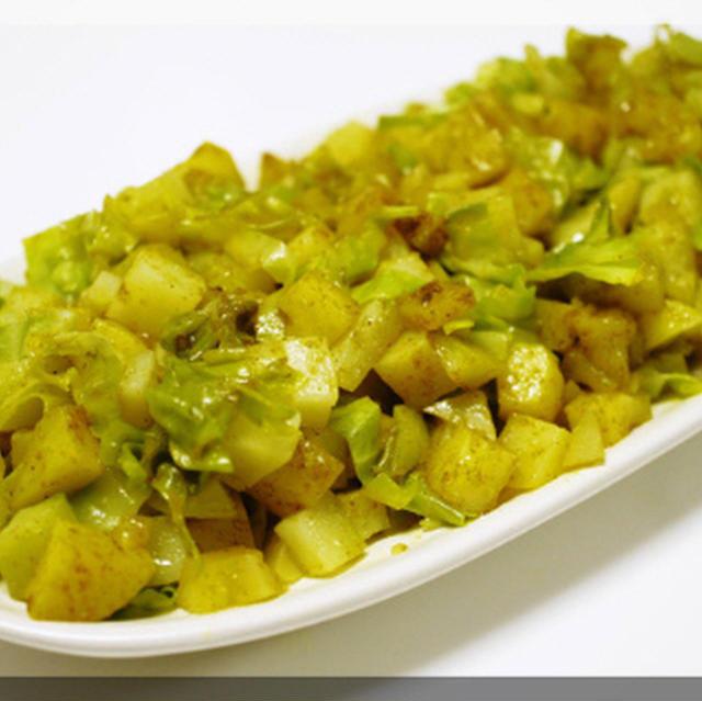 * ルクエ de インド式野菜炒めサブジ♪
