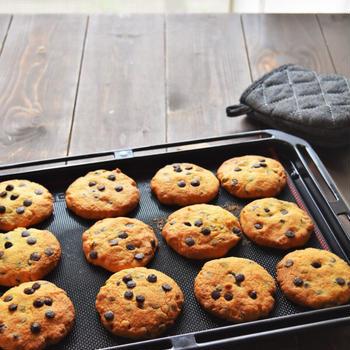 【きょうのおやつ】チョコチップクッキー作り 〜手作りは特別な味がする〜