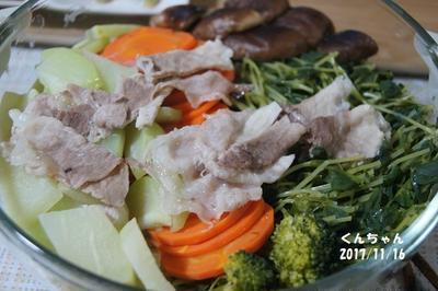 ☆野菜たっぷり蒸し鍋☆