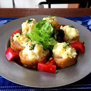 【お弁当も!レンジで簡単!!】鶏チャーシューポテト