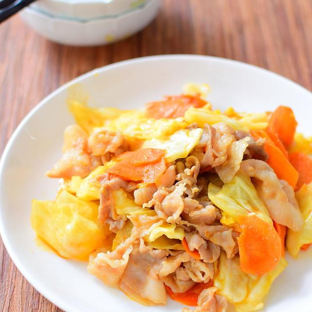 にんじんスライスの回鍋肉のレシピ