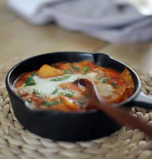 シャクシュカ風白菜