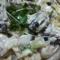 牡蠣ときのこのクリームスパゲッティー by はーい♪にゃん太のママさん