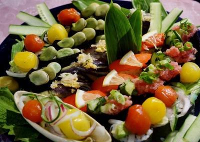 ■『あき流 野菜寿司』Motto様のサイトで素敵に掲載を頂いてます♪