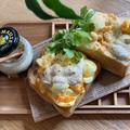 ゴロゴロ玉子サンド&トースト