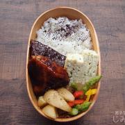 【地味弁】ブリの照り焼き弁当と、メタルシャワーでゾワゾワ体験