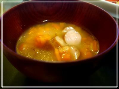 なーつのお~わりぃ~♪【Recipe:洋風お味噌汁】