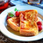 満足度高し!厚切りパンで作る「フレンチトースト」レシピ