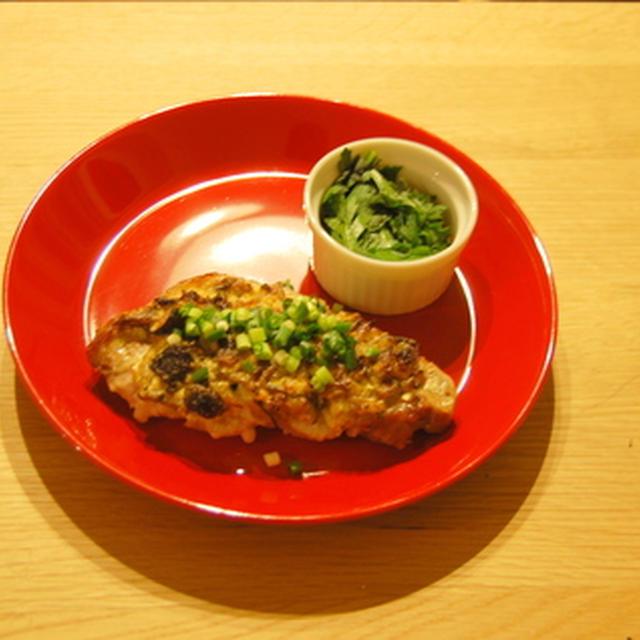 豚肉のオーブン焼き きのこマヨソース