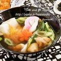 クックパッドでトップ10入り「麺つゆde簡単☆お雑煮」 by ジャカランダさん