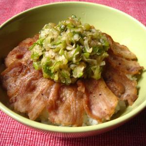 白ご飯との相性最高!豚とネギの丼レシピ