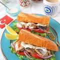 サバ缶で簡単栄養たっぷり朝ごはん!トルコ風サバサンド♪スパイスブログ連載