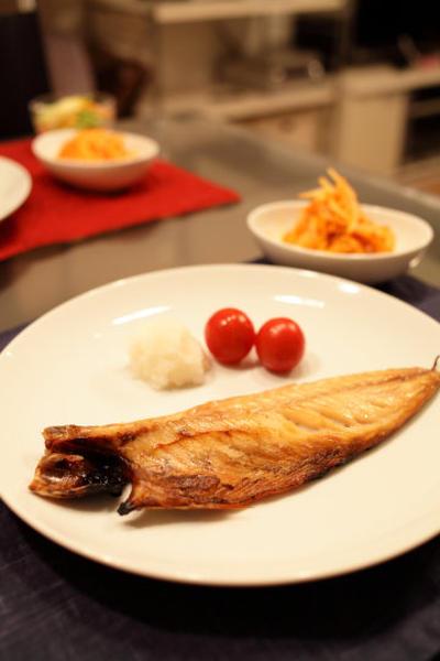 真鯖の塩焼き
