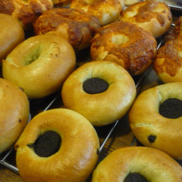 楽しいパン作り♪ベーグル&シュガーバター♪
