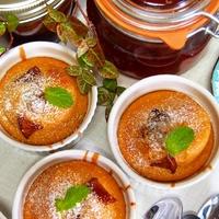 フルーツブランデーで簡単フルーツケーキ  HMを使って混ぜて焼くだけ!